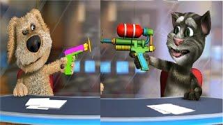 ГОВОРЯЩИЙ ТОМ и БЕН Новости - Детский игровой мультик видео про мультфильм для детей