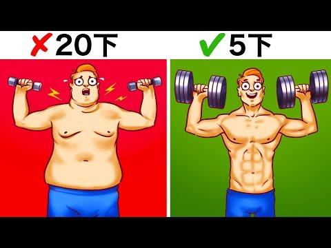 健身易犯的6個錯誤