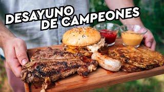 """Desayuno de Campeones para Año Nuevo 🔥 """"Continuemos hasta el 3 de Enero! 😱🙈"""""""