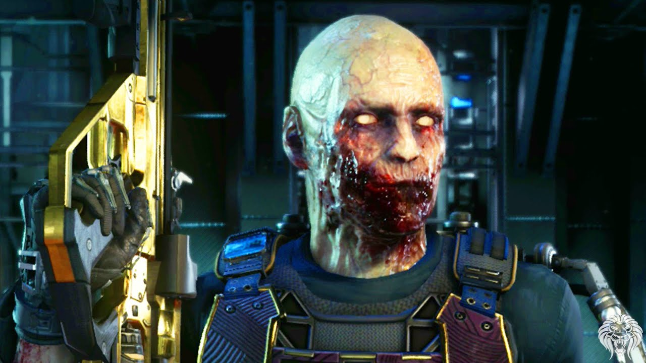 COD Advanced Warfare: ZOMBIE CHARACTER! How To Play As A ...