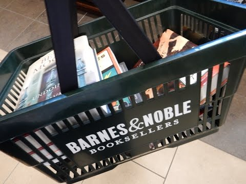 Barnes & Noble Shopping and Book Haul EPISODE #1