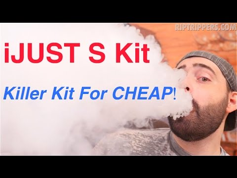 The Eleaf iJUST S Kit! Giving Away 8 Kits!