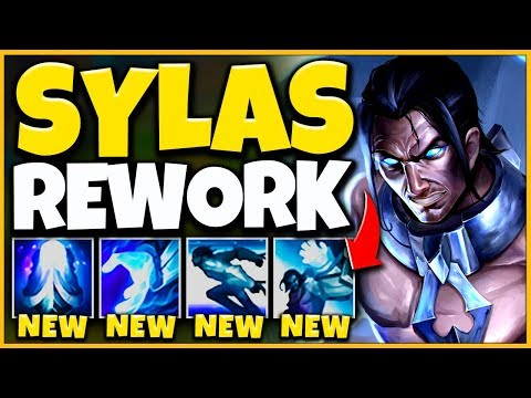 *CRAZY REWORK* SYLAS CAN ONE-SHOT ANYONE NOW ALL SPELLS CHANGED - League of Legends