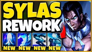 *CRAZY REWORK* SYLAS CAN ONE-SHOT ANYONE NOW (ALL SPELLS CHANGED) - League of Legends