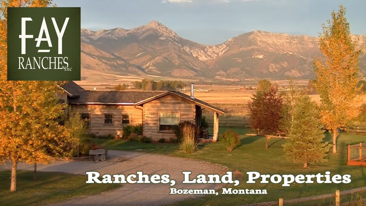 Bozeman Montana Properties For Sale   Fay Ranches Real Estate Broker