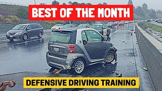 BEST OF THE MONTH (DECEMBER) | Bad Drivers & Driving Fails in USA & Canada (w/ Commentary)