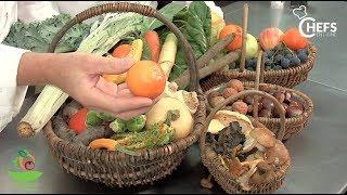 Le panier de fruits et légumes du mois d'octobre de sapam