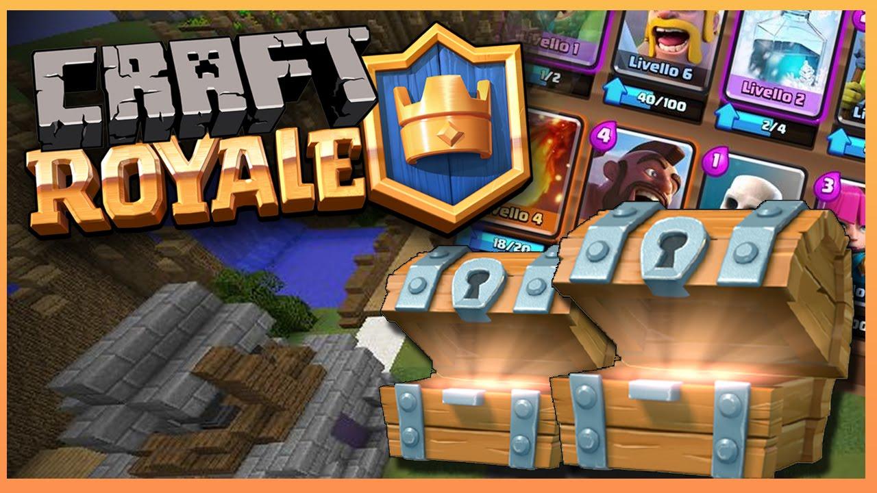 Craft royale il mio mazzo youtube for Progetta il mio mazzo