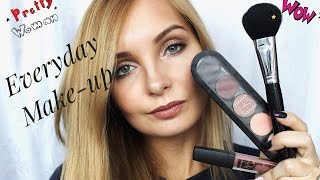 УРОК МАКИЯЖА: макияж на каждый день/ MY GO TO MAKE-UP