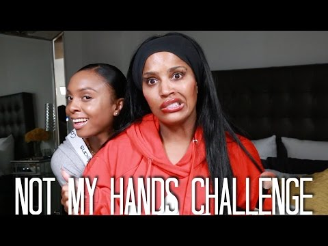 Not My Hands Challenge with My Cousin | MakeupShayla