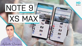 iPhone XS Max vs GALAXY Note 9: sfida oltre i 1000 euro
