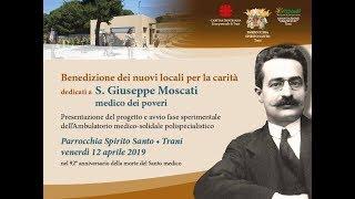 """TRANI - Inaugurato l'ambulatorio medico solidale """"San Giuseppe Moscati"""""""