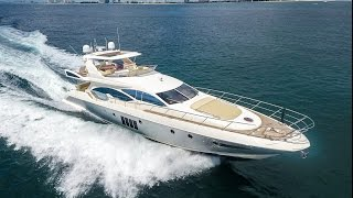 Azimut 70 Motoryacht in Palm Beach [Drone]