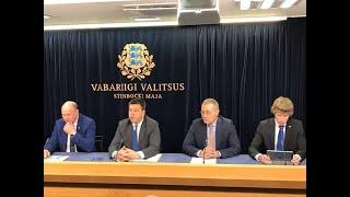 Valitsuse pressikonverents, 7. november 2019