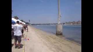 Speed Boat Racing at Marine Stadium, Long Beach, CA 2013
