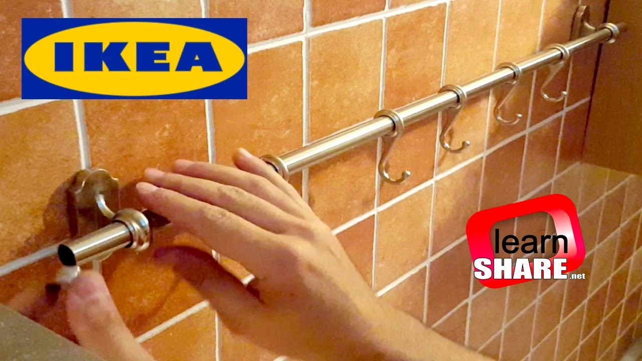 IKEA Kitchen Fintorp Rail Installation IKEA Kitchen