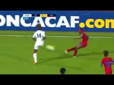 Haiti vs trinidad 3-2 triple de Nerilia Mondesir pour Haiti