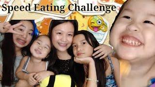 SPEED EATING CHALLENGE || SHALE DIAZ