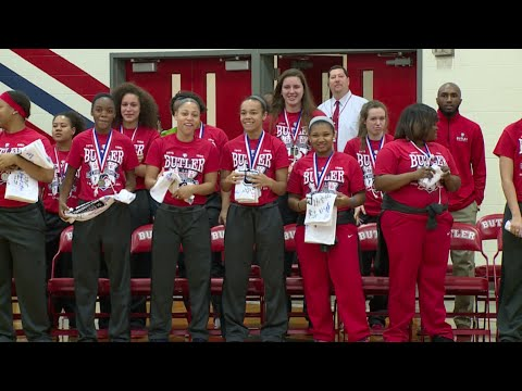 Butler High School -- Girls' Basketball Championship Celebration