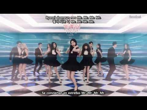Girls' Generation (SNSD) Mr Mr MV Sub Español Romanización Hangul Karaoke