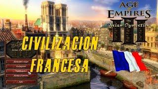 Age of Empires 3 | Gameplay en Español | Civilización Francesa | Vecinos enemigos