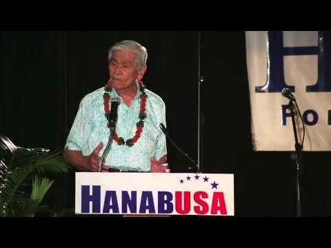 Governor Ariyoshi supports Colleen Hanabusa for U.S. Senate