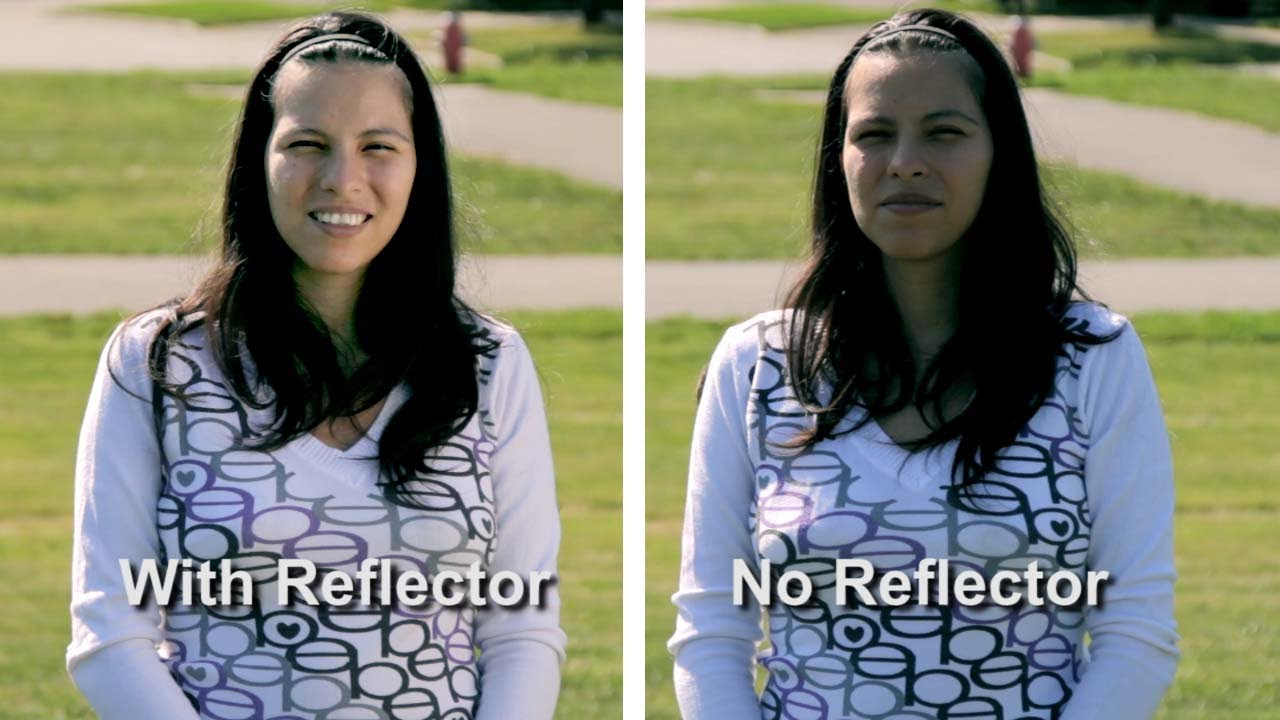 How to shoot video photos outside light reflector youtube aloadofball Choice Image