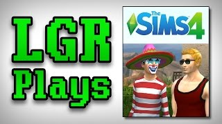 LGR Plays - The Sims 4 [Duke Cook'em]