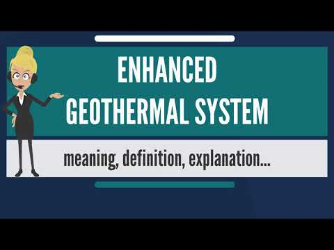 What is ENHANCED GEOTHERMAL SYSTEM? What does ENHANCED GEOTHERMAL SYSTEM mean?