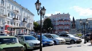 Прогулка по Одессе #1(Прогулка по городу-герою Одессе - одному из лучших городов в мире))), 2015-04-23T11:04:23.000Z)