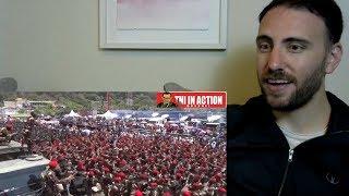 AMERICAN REACTION - Yel Yel KOMANDO terbaru Bikin Merinding!!! coba saja anda lihat - reaksi bule
