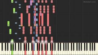 The Ventures - Walk Dont Run (Piano Tutorial) [Synthesia Cover]