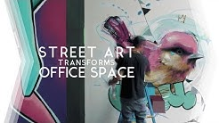 Amazing STREET ART transforms OFFICE /// A Chicago Documentary