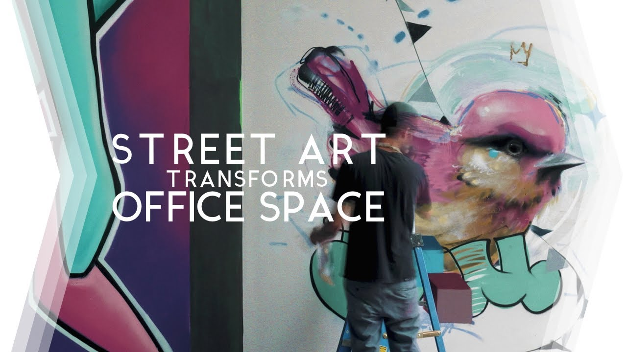STREET ART transforms OFFICE  |  A Chicago Documentary