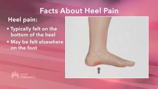 Managing Your Heel Pain - Signs & Symptoms