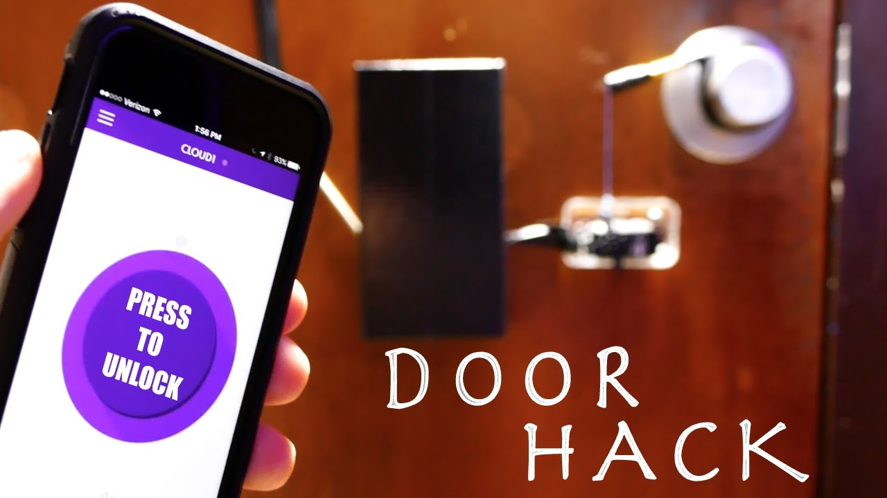 Clever Lock Hack YOU CAN DO YOURSELF (Open Your Door With WIFI?!?!)