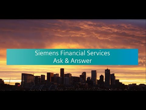 Siemens Ask and Answer: The Future of Infrastructure with Digitalization, Finance Week