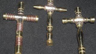 Cross Pendants (hand made) RT Fabrications