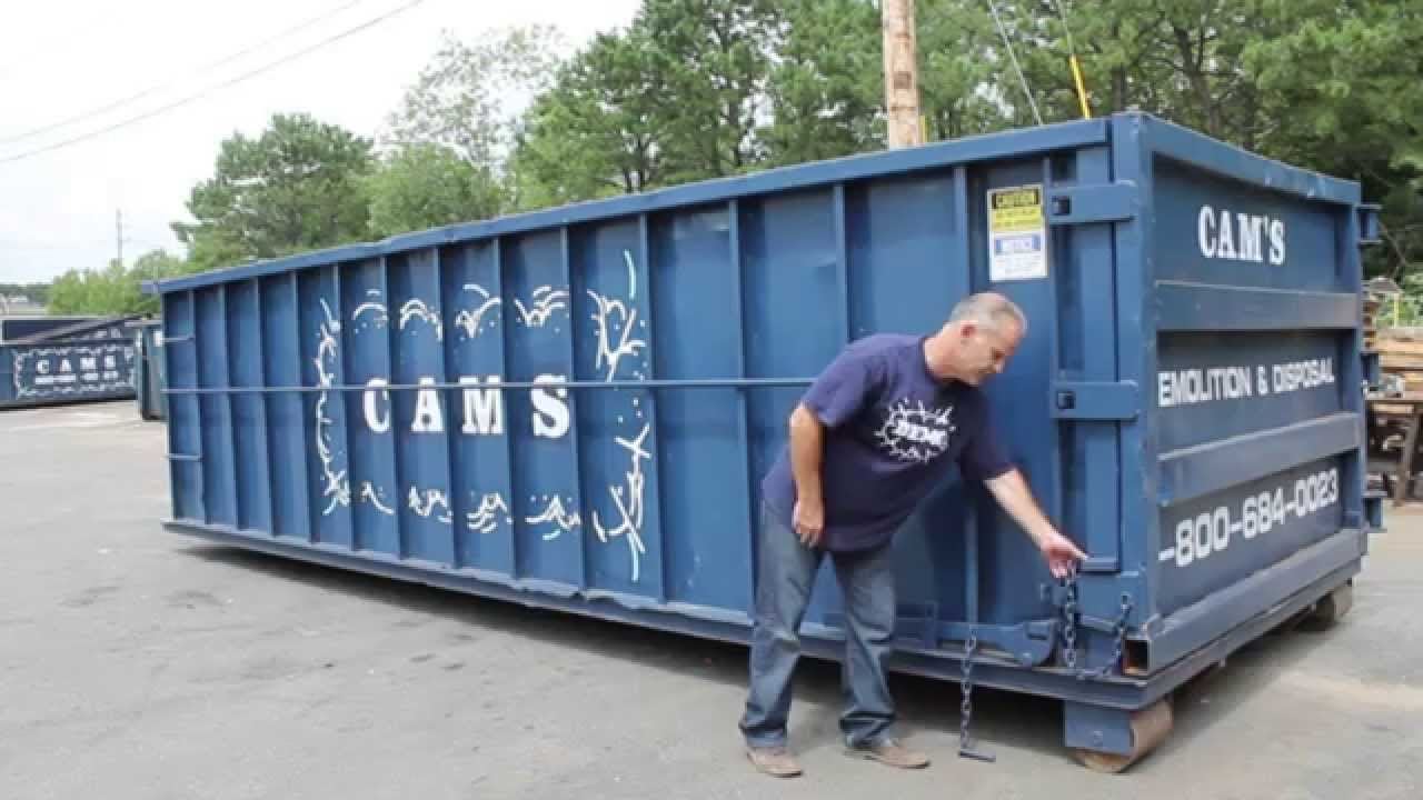 How To Open A Dumpster Door Cam S Dumpster New Hampshire