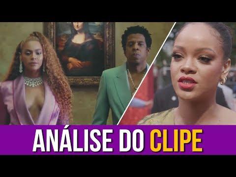 "Rihanna Analisa ""APES**T THE CARTERS"""