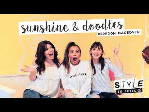 A YELLOW BEDROOM MAKEOVER ft. Adelaine Morin   STYLE SELECTED