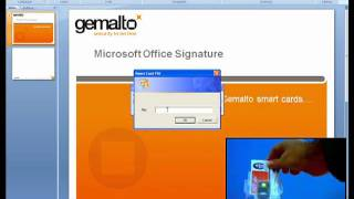 Smart Card (.NET) and signing document in Office