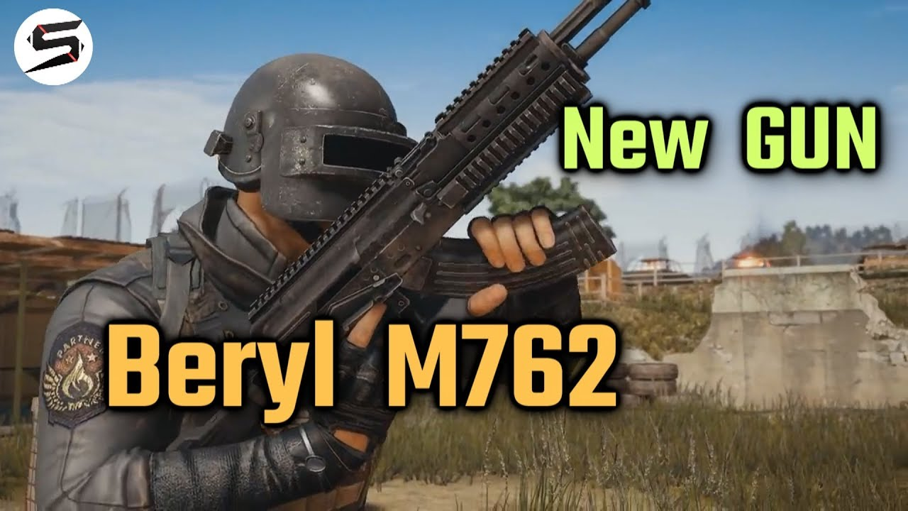 M762 Pubg: Beryl M762 (Assault Rifle)