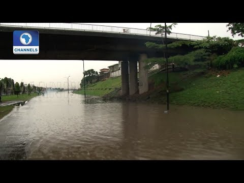 Floods Hit Parts Of Lagos After Heavy Rains