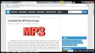 Download Cara Mudah Putar MP3 Online di Google