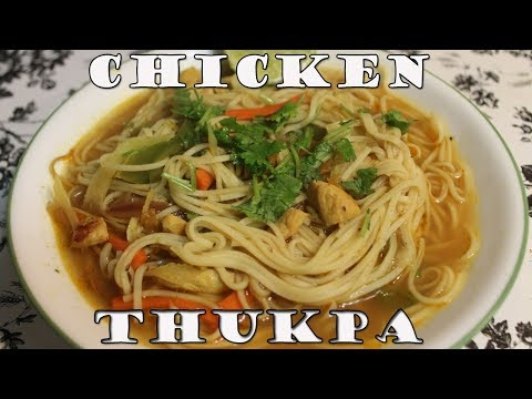 Easy Chicken Thukpa Recipe by Chef Suni   Tibetan Noodle Soup   Chicken Thukpa Nepali style