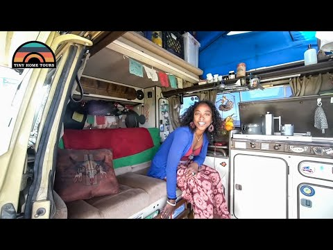 couple-lives-&-travels-full-time-in-a-beautifully-designed-westy-camper-van