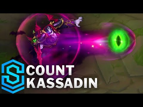 Count Kassadin Skin Spotlight - Pre-Release - League of Legends