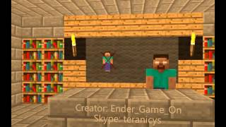 Shkola monstrov   Stiv   Minecraft animation Video