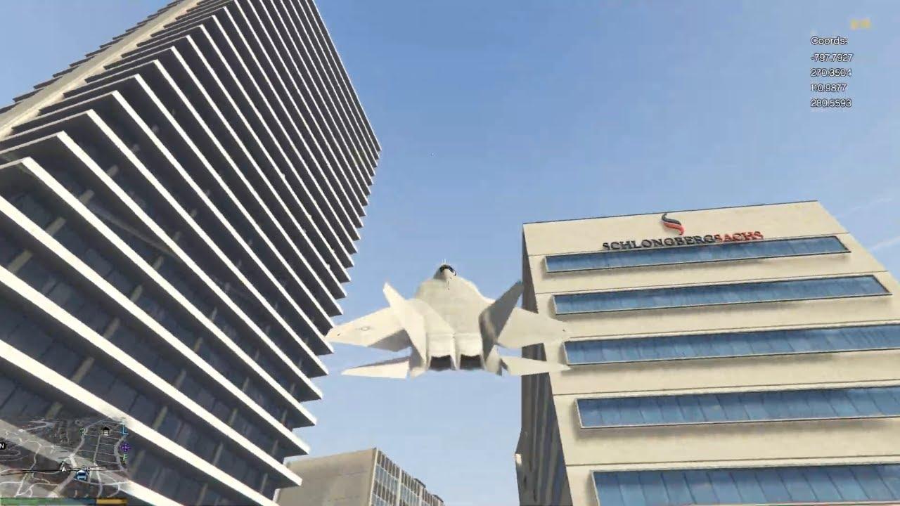 Flying Jet at GTA V | GTA 5 Jet Stunts | GTA 5 Gameplay #3